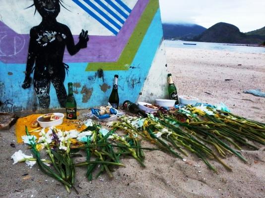 Afro Brazilian altar Rio